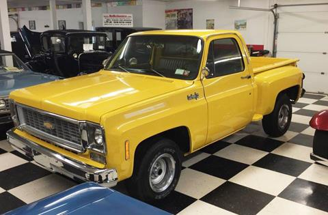 1974 Chevrolet C10 FRAMEOFF RESTORED for sale at AB Classics in Malone NY