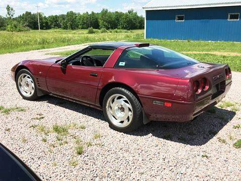 1993 Chevrolet Corvette for sale at AB Classics in Malone NY