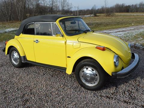 1975 Volkswagen Beetle for sale at AB Classics in Malone NY