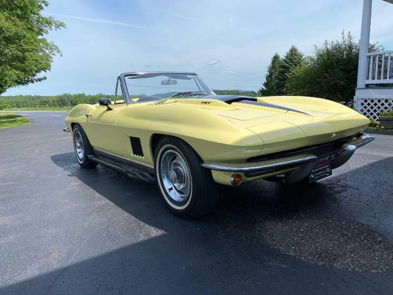 1967 Chevrolet Corvette for sale at AB Classics in Malone NY