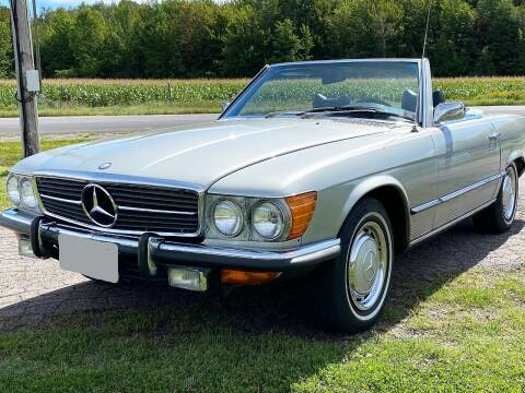 1972 Mercedes-Benz 450 SL for sale at AB Classics in Malone NY