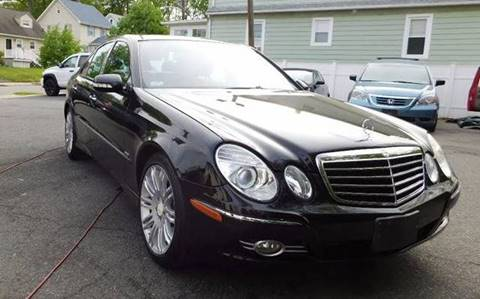 2008 Mercedes-Benz E-Class for sale at RAHWAY AUTO EXCHANGE in Rahway NJ