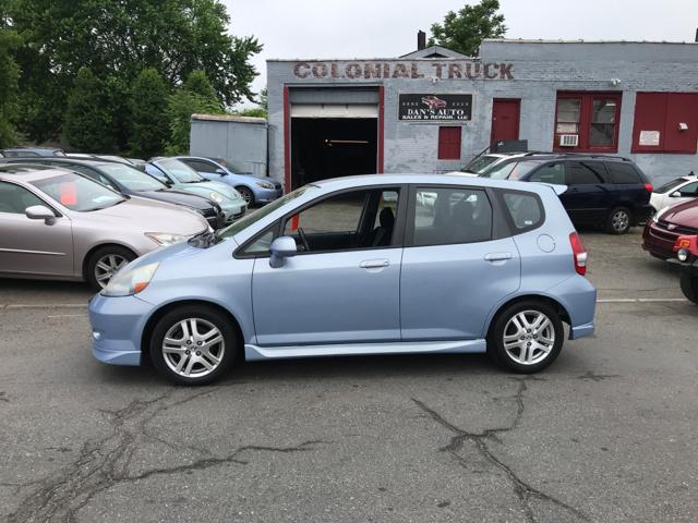2008 Honda Fit for sale at Dan's Auto Sales and Repair LLC in East Hartford CT