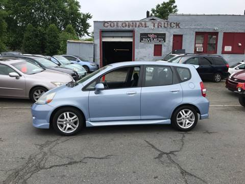 2008 Honda Fit for sale at Dan's Auto Sales and Repair LLC in East Hartford CT