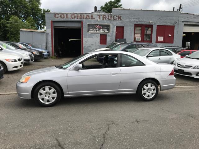 2002 Honda Civic for sale at Dan's Auto Sales and Repair LLC in East Hartford CT