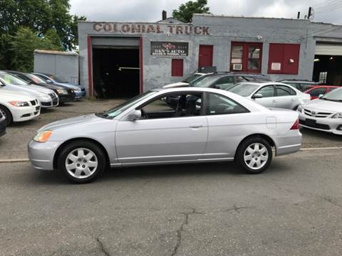 2002 Honda Civic for sale at Dan's Auto Sales and Repair LLC in East Hartford CT