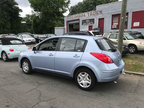 2010 Nissan Versa for sale at Dan's Auto Sales and Repair LLC in East Hartford CT