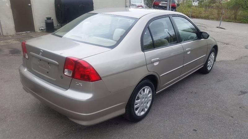 2005 Honda Civic LX 4dr Sedan - Seekonk MA