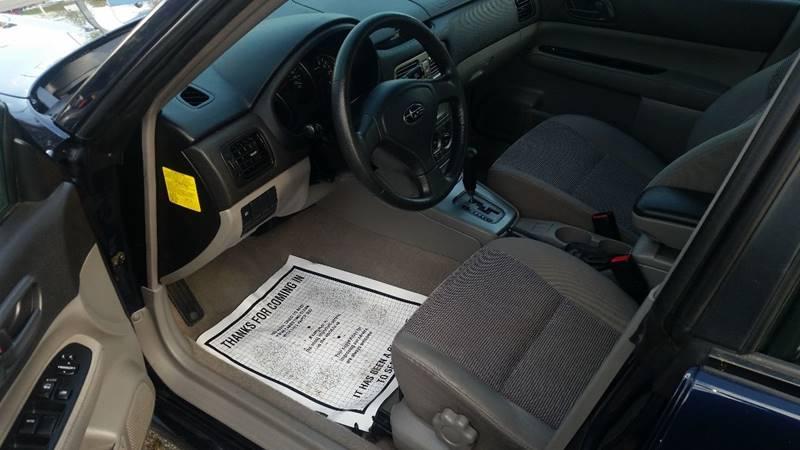 2006 Subaru Forester AWD 2.5 X 4dr Wagon w/Automatic - Seekonk MA