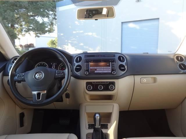 2012 Volkswagen Tiguan S 4dr SUV 6A - San Carlos CA