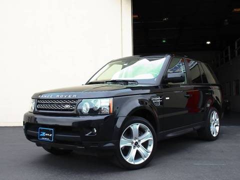 2012 Land Rover Range Rover Sport for sale at Z Carz Inc. in San Carlos CA