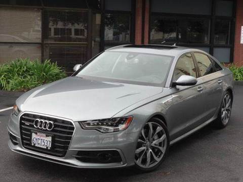 2013 Audi A6 for sale at Z Carz Inc. in San Carlos CA