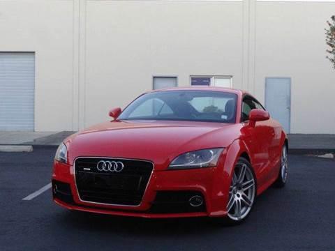 2012 Audi TT for sale at Z Carz Inc. in San Carlos CA