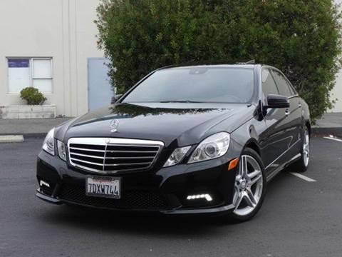 2011 Mercedes-Benz E-Class for sale at Z Carz Inc. in San Carlos CA