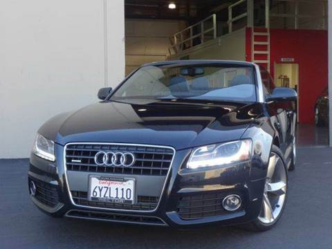 2012 Audi A5 for sale at Z Carz Inc. in San Carlos CA