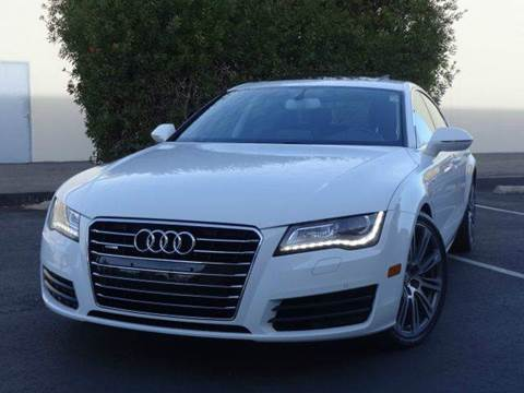 2012 Audi A7 for sale at Z Carz Inc. in San Carlos CA