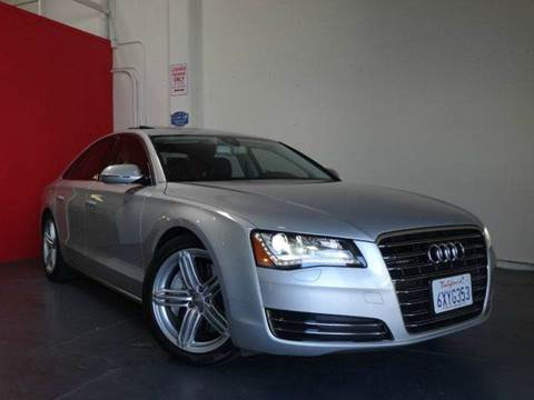 2012 Audi A8 for sale at Z Carz Inc. in San Carlos CA