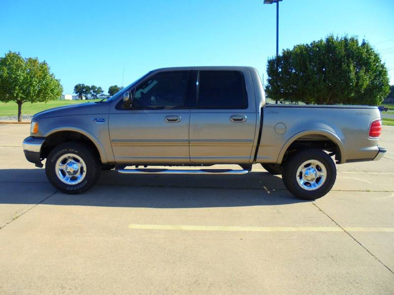 2003 Ford F-150 4dr SuperCrew Lariat 4WD Styleside SB - Duncan OK