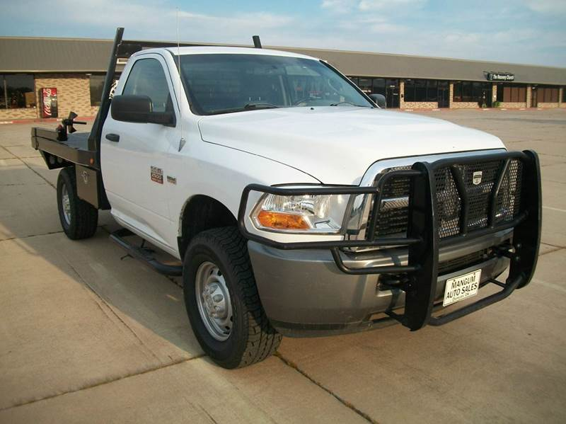 2011 RAM Ram Pickup 2500 4x4 Outdoorsman 2dr Regular Cab 8 ft. LB Pickup - Duncan OK