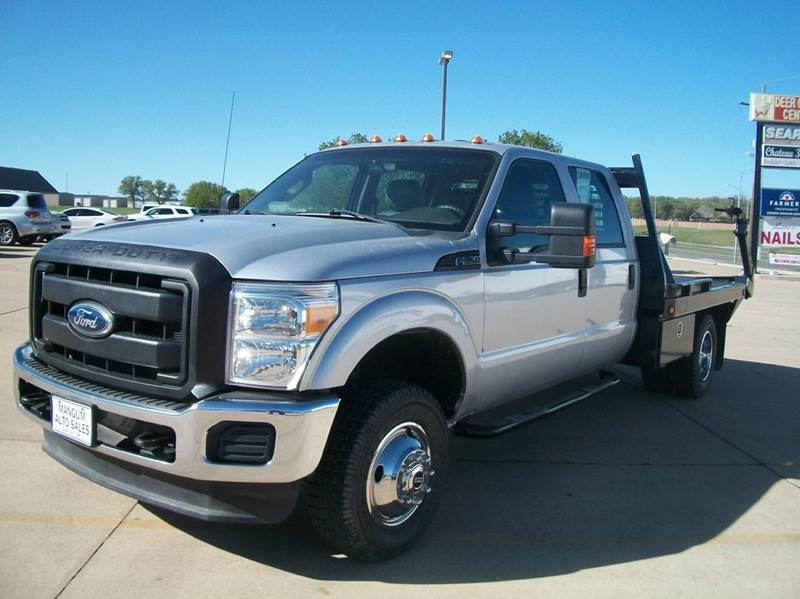2012 Ford F-350 Super Duty 4x4 XL 4dr Crew Cab 176 in. WB DRW Chassis - Duncan OK