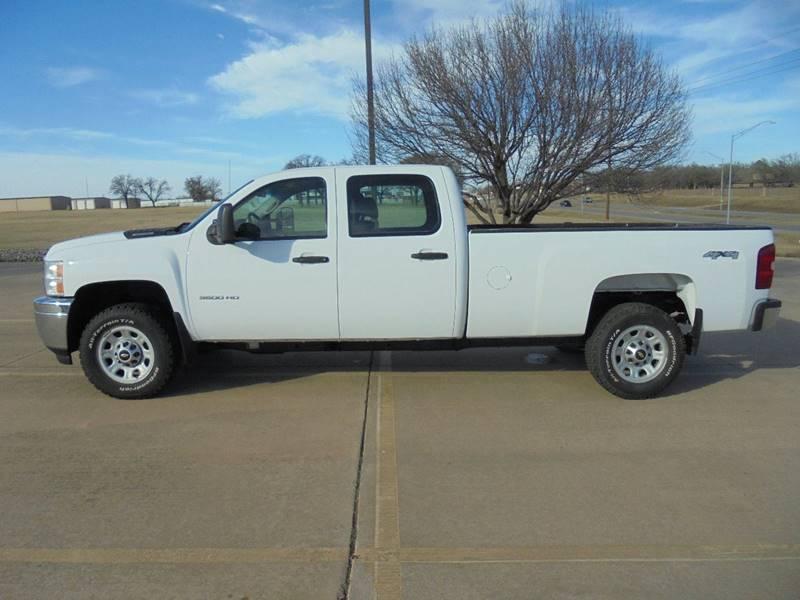 2011 Chevrolet Silverado 3500HD 4x4 Work Truck 4dr Crew Cab LB SRW - Duncan OK