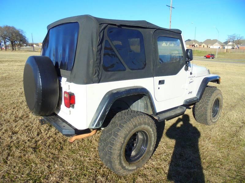 1999 Jeep Wrangler 2dr Sport 4WD SUV - Duncan OK