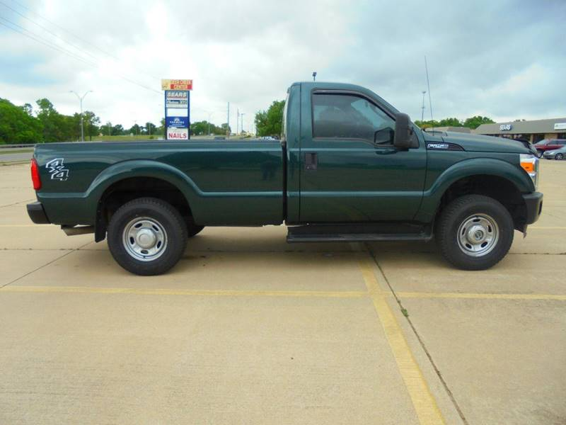 2012 Ford F-250 Super Duty 4x4 XL 2dr Regular Cab 8 ft. LB Pickup - Duncan OK