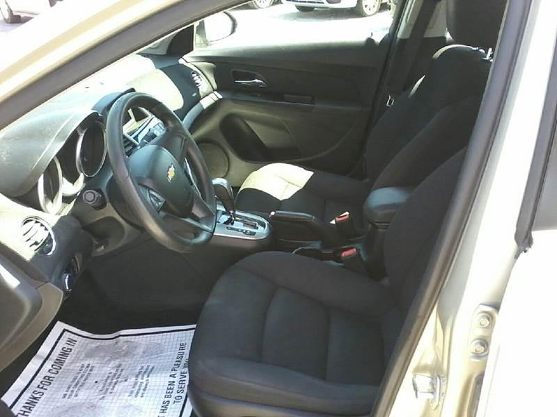 2013 Chevrolet Cruze LT Fleet 4dr Sedan w/1FL - Salisbury MD