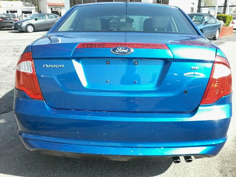2012 Ford Fusion SE 4dr Sedan - Salisbury MD