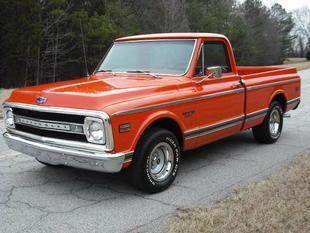 1969 Chevrolet C/K 10 Series for sale at CAROLINA CLASSIC AUTOS in Fort Lawn SC