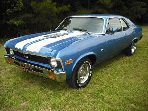 1972 Chevrolet Nova for sale at CAROLINA CLASSIC AUTOS in Fort Lawn SC
