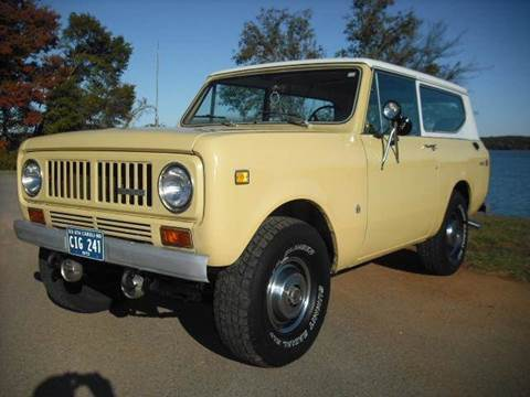 1973 International Scout II for sale at CAROLINA CLASSIC AUTOS in Fort Lawn SC
