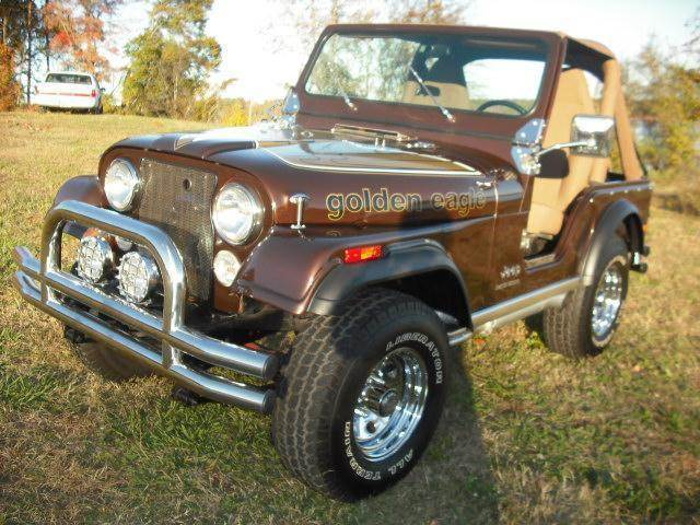 1978 Jeep CJ-5 for sale at CAROLINA CLASSIC AUTOS in Fort Lawn SC