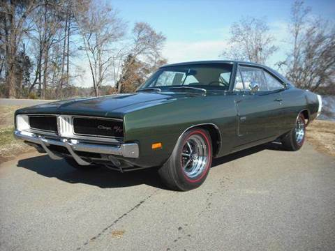 1969 Dodge Charger for sale at CAROLINA CLASSIC AUTOS in Fort Lawn SC