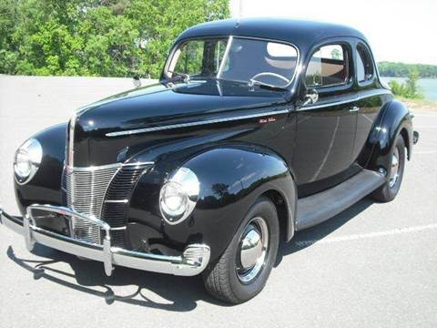 1940 Ford Deluxe Coupe for sale at CAROLINA CLASSIC AUTOS in Fort Lawn SC