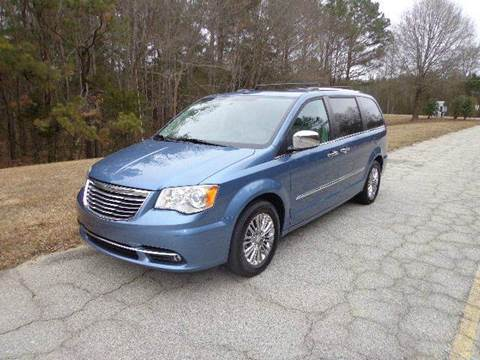2011 Chrysler Town and Country for sale at CAROLINA CLASSIC AUTOS in Fort Lawn SC