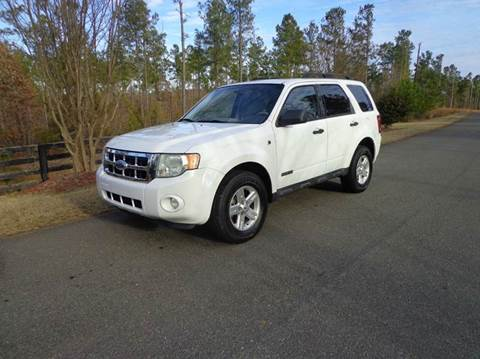 2008 Ford Escape Hybrid for sale at CAROLINA CLASSIC AUTOS in Fort Lawn SC