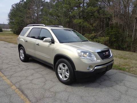 2008 GMC Acadia for sale at CAROLINA CLASSIC AUTOS in Fort Lawn SC