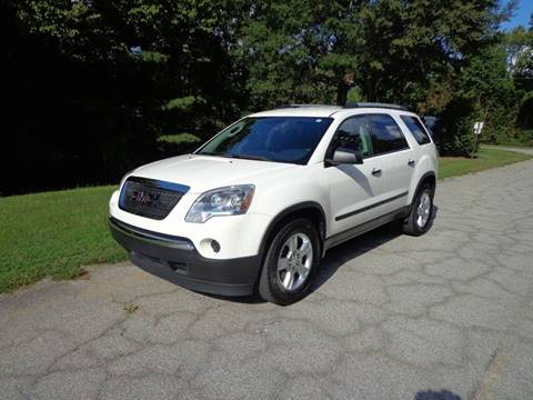 2011 GMC Acadia for sale at CAROLINA CLASSIC AUTOS in Fort Lawn SC