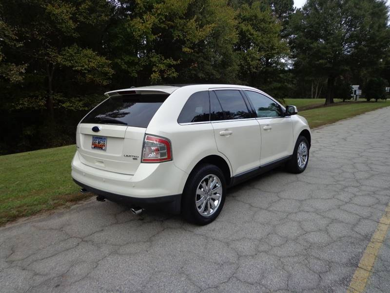 2008 ford edge limited awd manual