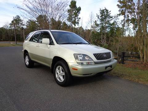2000 Lexus RX 300 for sale at CAROLINA CLASSIC AUTOS in Fort Lawn SC