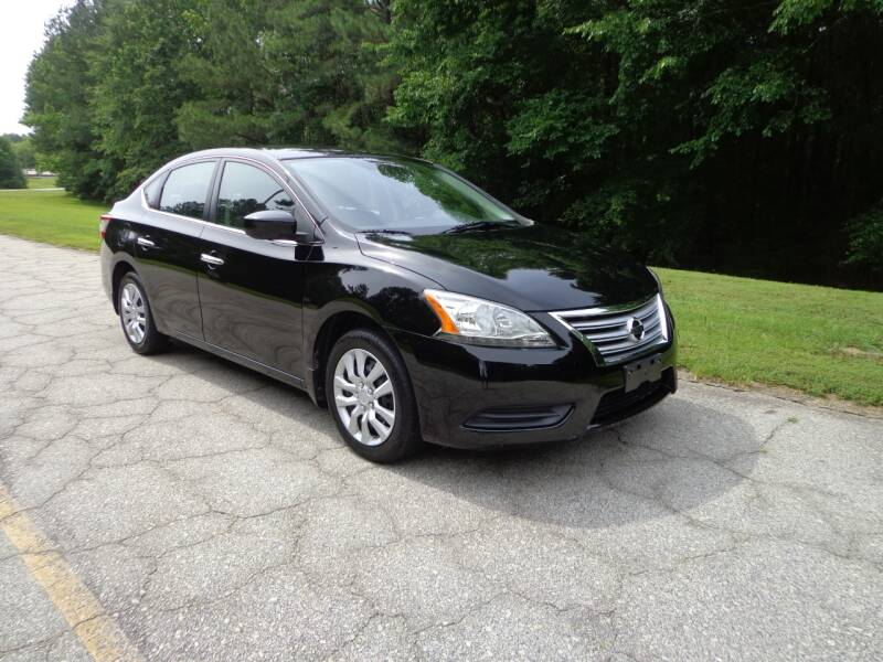 2013 Nissan Sentra for sale at CAROLINA CLASSIC AUTOS in Fort Lawn SC