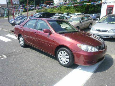 2005 Toyota Camry for sale at Ricciardi Auto Sales in Waterbury CT