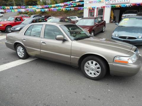 2003 Mercury Grand Marquis for sale at Ricciardi Auto Sales in Waterbury CT
