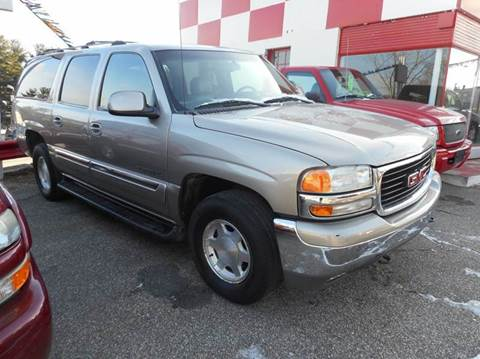 2003 GMC Yukon XL for sale at Ricciardi Auto Sales in Waterbury CT