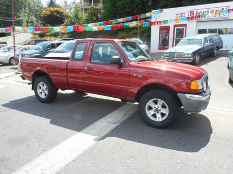 2004 Ford Ranger for sale at Ricciardi Auto Sales in Waterbury CT