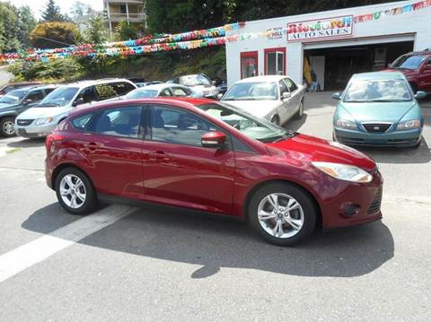 2013 Ford Focus for sale at Ricciardi Auto Sales in Waterbury CT