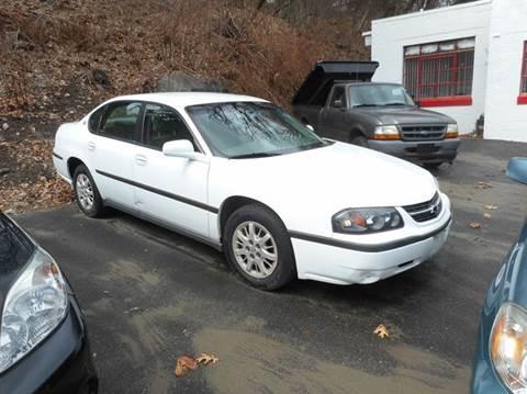2000 Chevrolet Impala for sale at Ricciardi Auto Sales in Waterbury CT