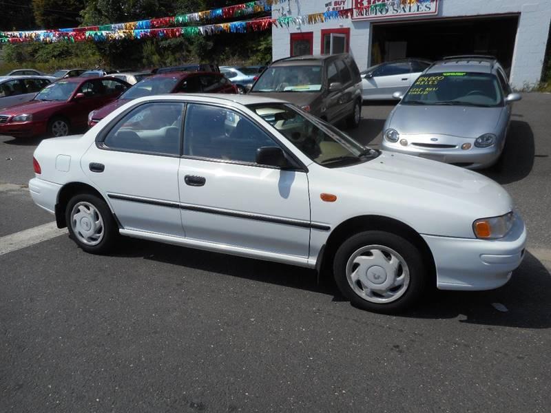 1995 Subaru Impreza for sale at Ricciardi Auto Sales in Waterbury CT