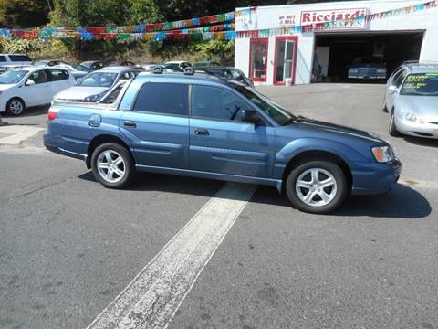 Baja Auto Sales >> Subaru Baja For Sale In Waterbury Ct Ricciardi Auto Sales